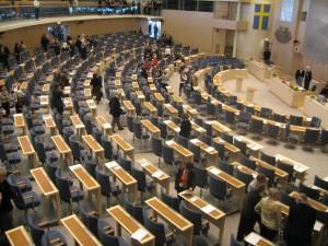 Parlanentul Suediei (Riksdag)