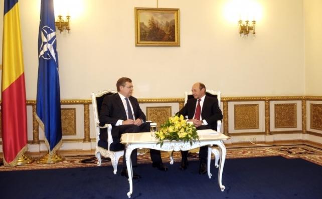Konstantin Grișcenko și Traian Băsescu, mai 2011