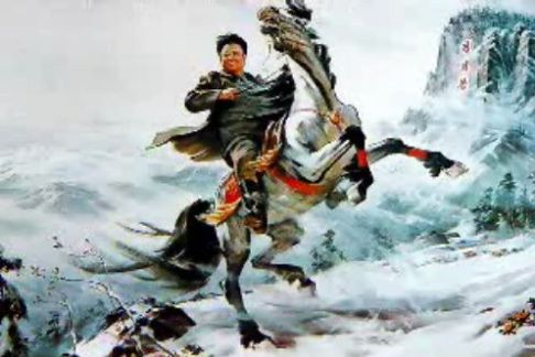Kim Jong Il în imaginarul nord-corean