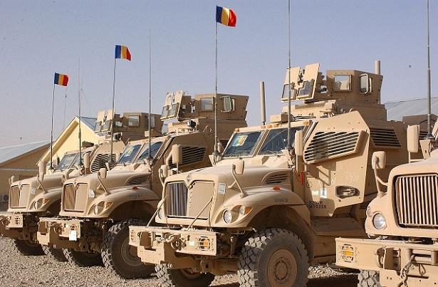 Vehicule blindate americane împrumutate trupelor române