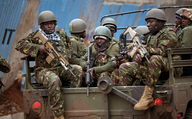 Kenya Special Forces FN SCAR Special Operations Forces Combat Assault Rifle (SCAR) (2)