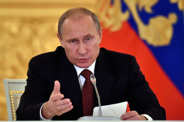 Vladimir Putin chairs a meeting of the Presidential Council for Civil Society and Human Rights at the Kremlin