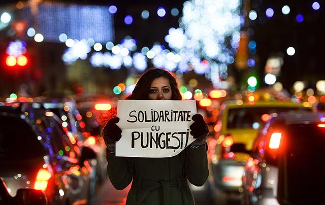 Proteste pungesti